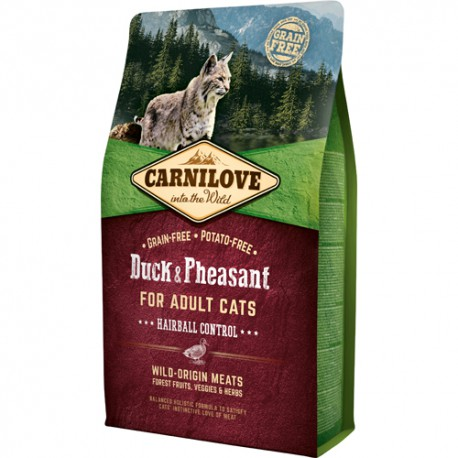 Carnilove kat Adult – Hairball Control 400 g