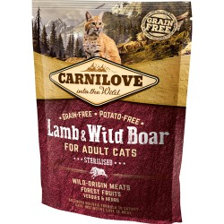 Carnilove Kat Adult Lamb og Wild Boar – Sterilised 400 g