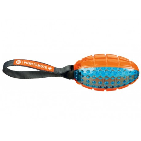 Push to mute, Rugby Bold med reb, 12 cm/27 cm