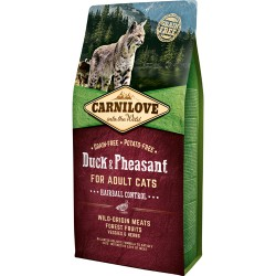 Carnilove kat Adult – Hairball Control 6 kg