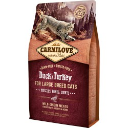 Carnilove for Large Breed Cats – Muscles Bone 2kg