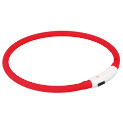 Lysring USB, XS–S: 35 cm/ø 8 mm, red