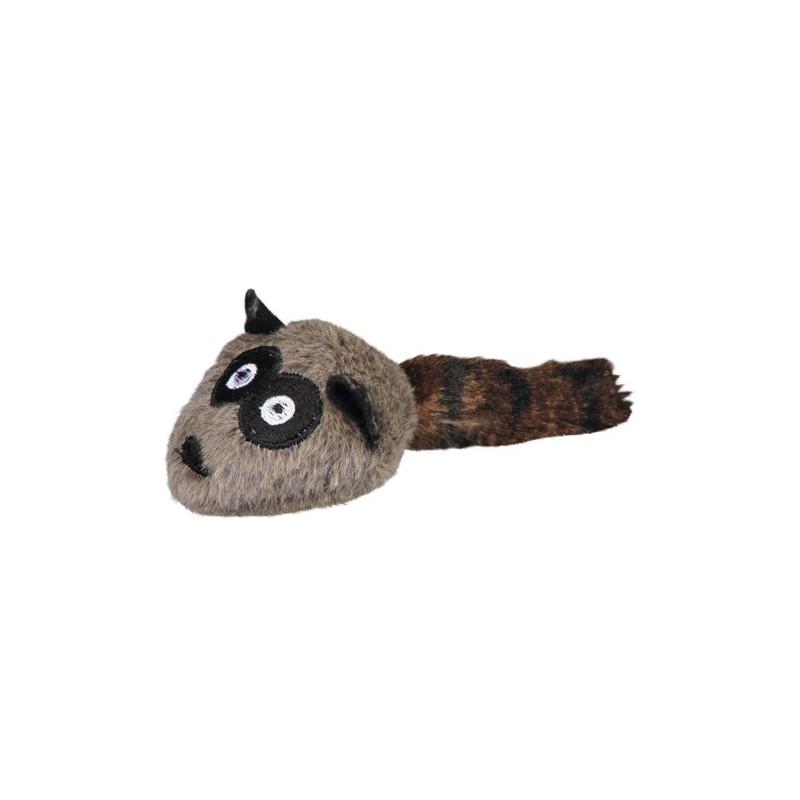 Racoon, plush, 12 cm