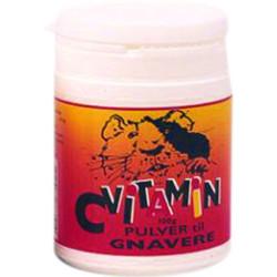 C-Vitamin pulver til gnavere 50 gram
