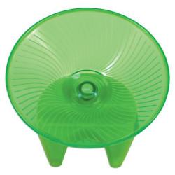Flying saucer hamsterhjul lille 13cm - grøn
