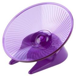 Flying saucer løbehjul medium 17cm - lilla