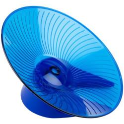 Flying saucer løbehjul large 30cm - blå
