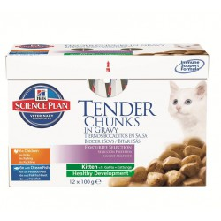 Science Plan Kitten Favourite Selection 12 x 85 g pouch