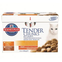 Science Plan Feline Adult Poultry Selection 12 x 85 g