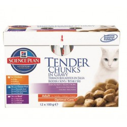 Science Plan Feline Adult Favourite Selection 12 x 85 g