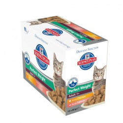 Science Plan Feline Perfect Weight Multipack 12 x 85 g pouc