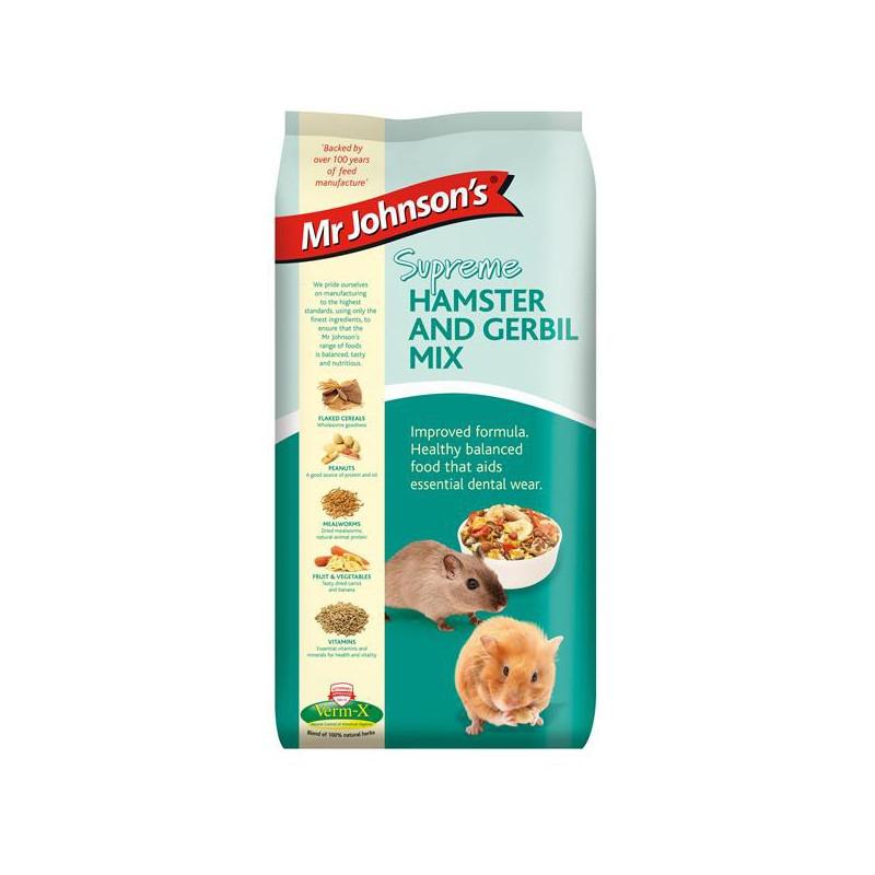 Mr.J Hamster&Gerbil mix 900g