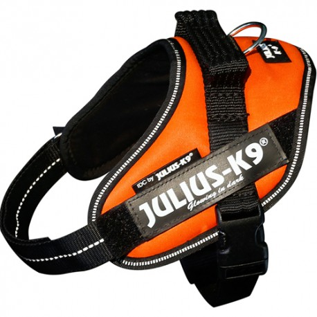 K9 IDC-Powerharness, Baby 1, UV orange