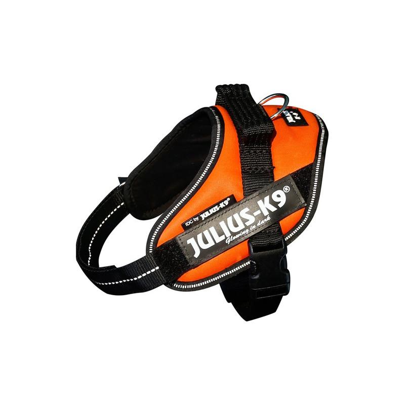 K9 IDC-Powerharness, Mini-Mini UV Orange
