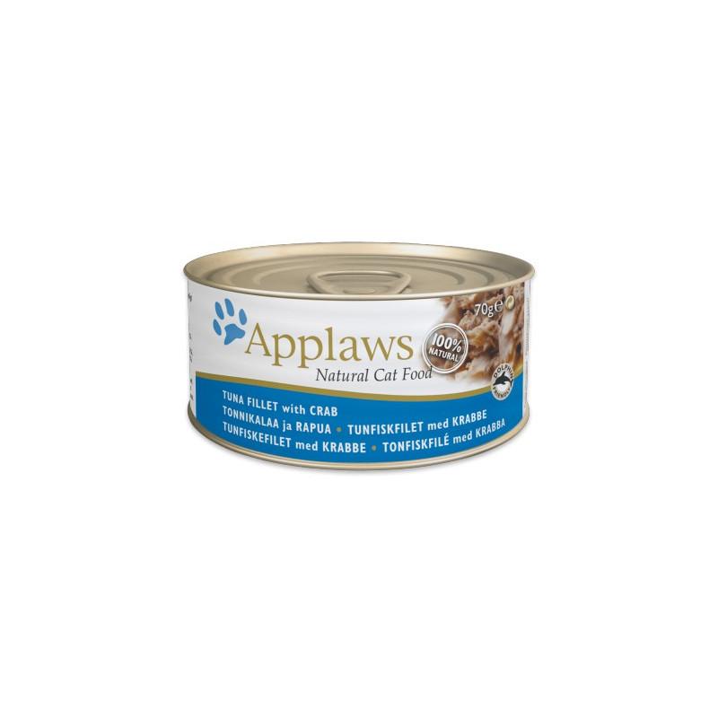 Applaws Cat 70g Tun & Krabbe