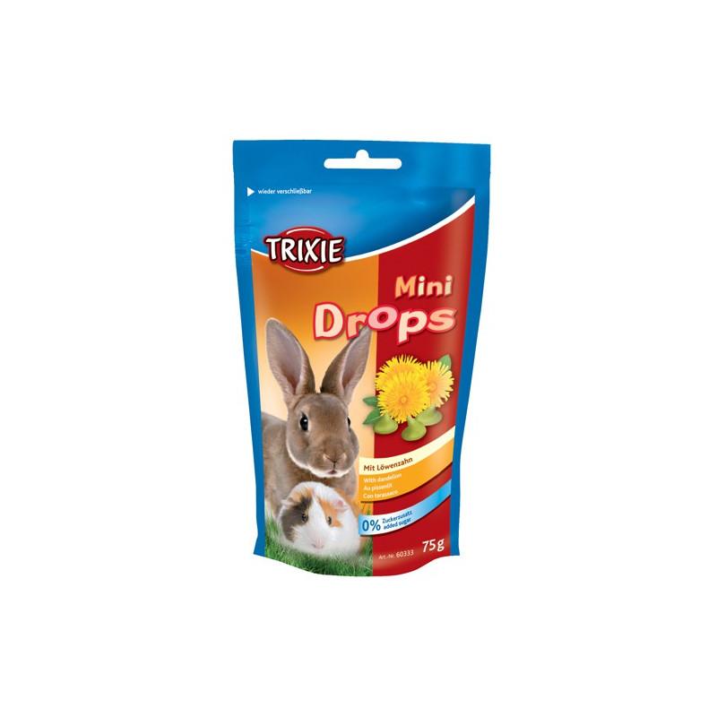 Mini Drops med mælkebøtte 75 gram