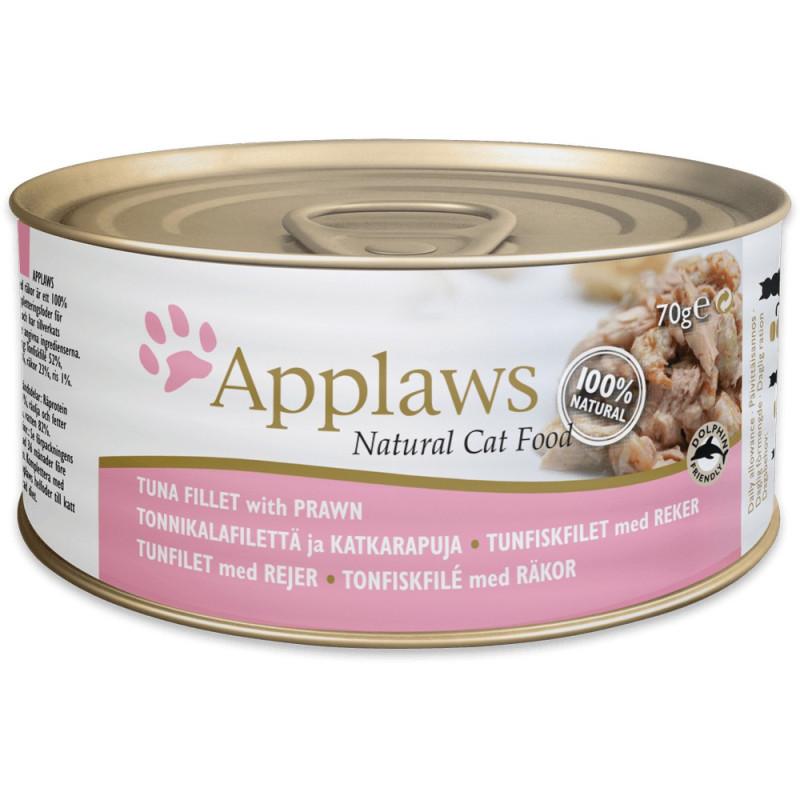 Applaws 156g Cat Tuna & Prawn
