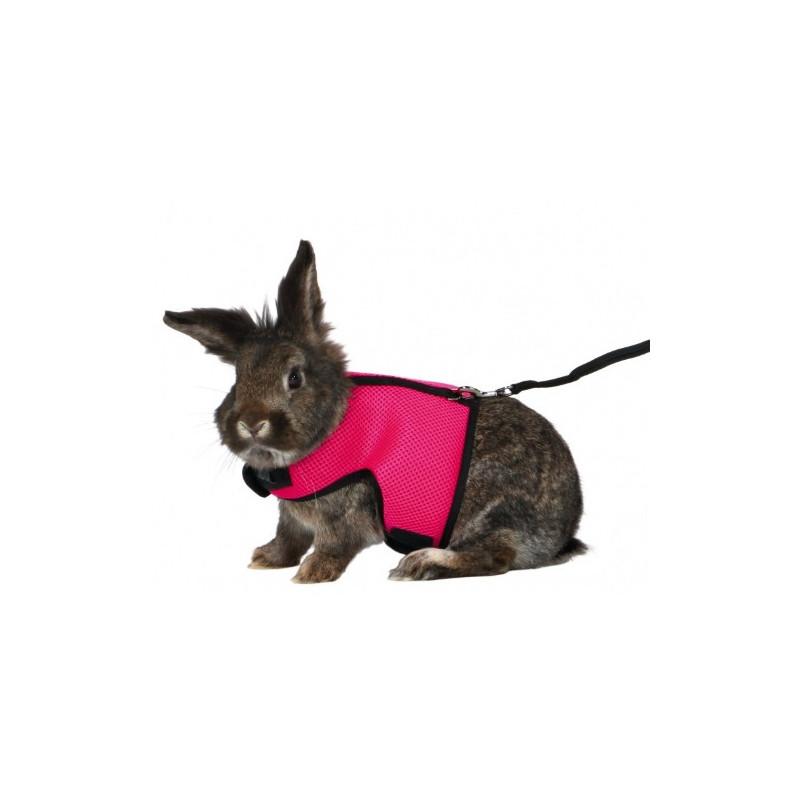 Soft sele m. line, stor kanin eller rotte, 25–40cm