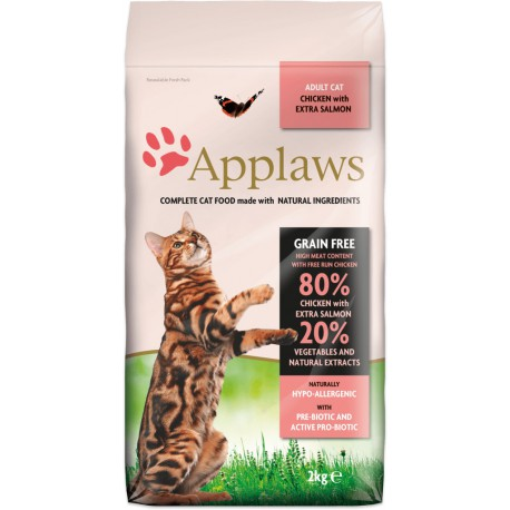 Applaws Adult Chicken with Extra Salmon 2kg