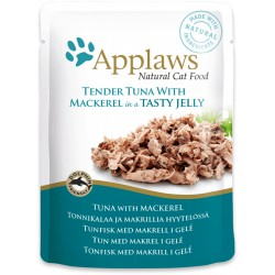 Applaws tun & makrel pouch 70g
