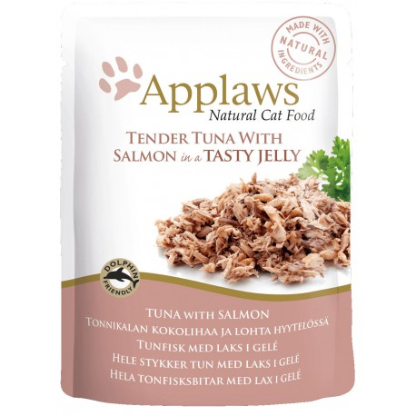 Applaws tun & laks pouch 70g