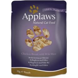 Applaws - Kyllingebryst med Vilde ris 70g