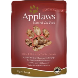 Applaws - Tunfilet med stillehavsrejer 70g