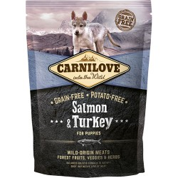 Gratis Carnilove Salmon & Turkey for Puppies 100g