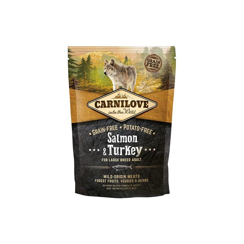 Gratis vareprøve 100g - Carnilove Salmon & Turkey for Large Breed Adult
