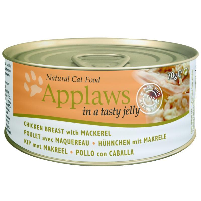 Applaws 70g Cat Kylling & Makrel i gele