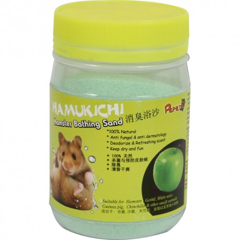 Hamukichi hamster badesand m.æble duft
