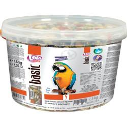 Papegøjefoder komplet i spand 1.5kg
