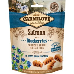 Carnilove Crunchy Snack Salmon & blueberries 200g