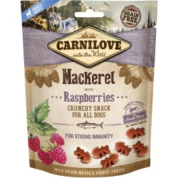 Carnilove Crunchy Snack Mackerel & Raspberries200g