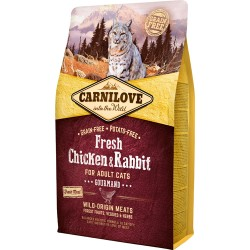 Carnilove Fresh Chicken & Rabbit - Adult cats 2kg
