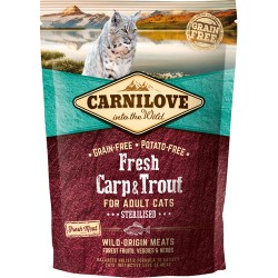 Carnilove Fresh Carp & Trout - Adult cats 400g