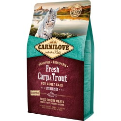 Carnilove Fresh Carp & Trout - Adult cats 2kg