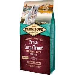 Carnilove Fresh Carp & Trout - Adult cats 6kg