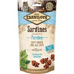 Carnilove - Cat semi moist Snack Sardin og persille50g