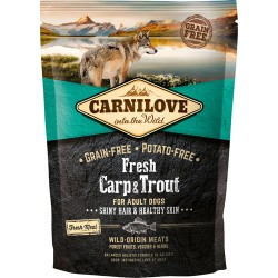 Gratis Carnilove Fresh Carp & Trout - Adult dogs 100g
