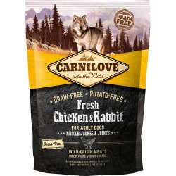gratis - Carnilove Fresh Chicken & Rabbit - Adult Dogs 100g
