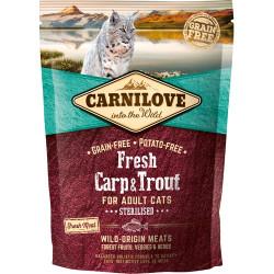 Gratis smagsprøve - Carnilove Fresh Carp & Trout - Adult cats 50g