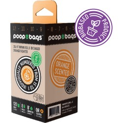 Poop Bags Biobased - Uncented 120 stk