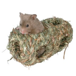Dobbelt græshule til hamster