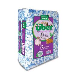 Über Soft Bedding 36 Liter - Blå/Hvid