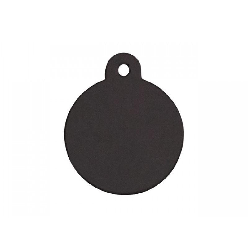 Hundetegn Cirkel sort lille