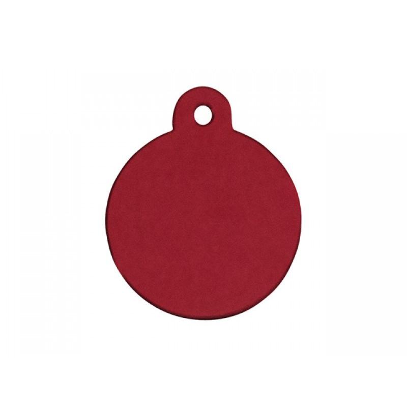 Hundetegn Cirkel rød lille