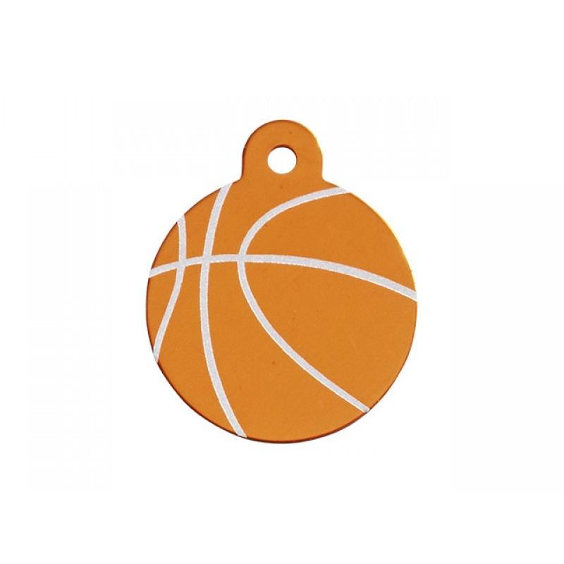 Hundetegn cirkel basketball stor