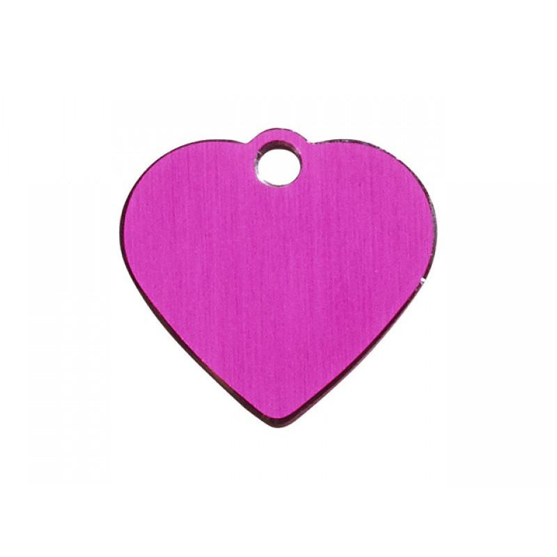 Hundetegn Hjerte Pink Lille