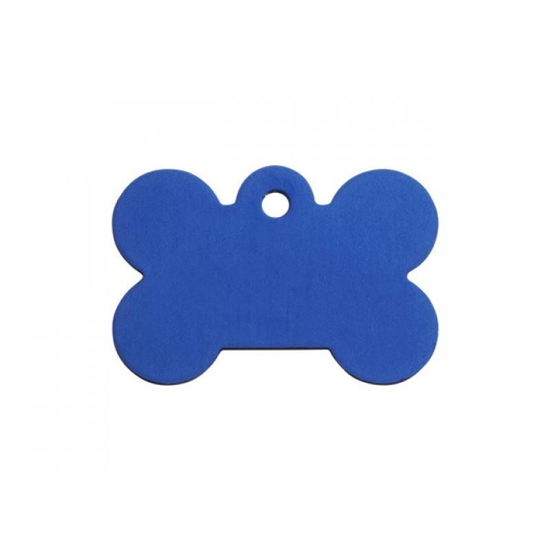 Hundetegn Kødben Blå Lille
